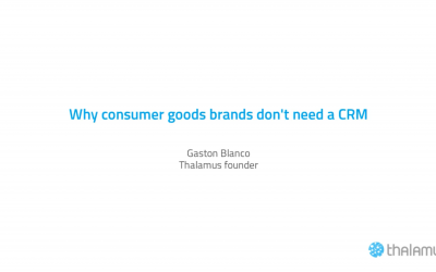 Episode 001 – Why Consumer Goods brands don't need CRM